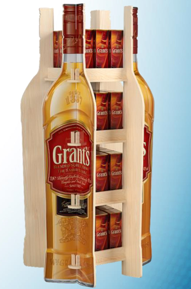 Whiskey Display Stand