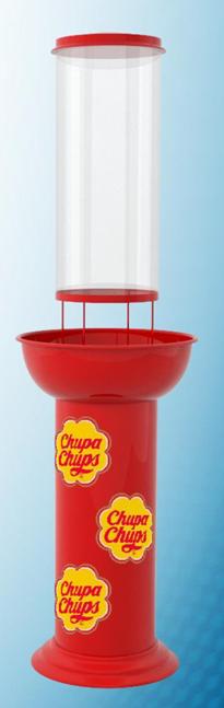Chupa Chups Display Stand
