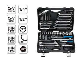 76pcs Socket tools set