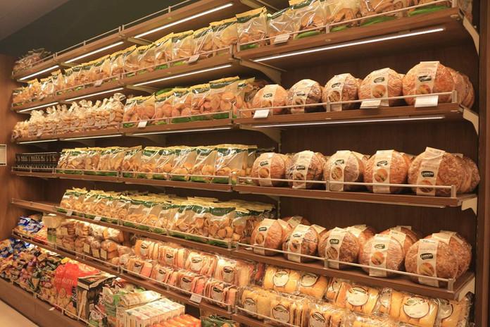 Bakery Wooden Shelving