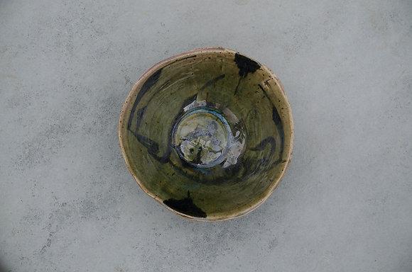 Green Kufic Bowl