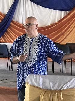 Keith training Elim Zim Leaders