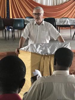 Billy training leaders Elim Zimbabwe