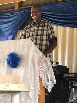 Moruti Mbowani at Mamelodi