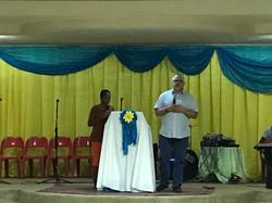 Keith speaking Steenbok