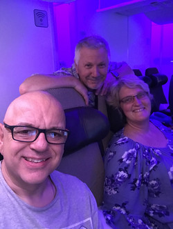 Flying back to the UK with Billy Fenning