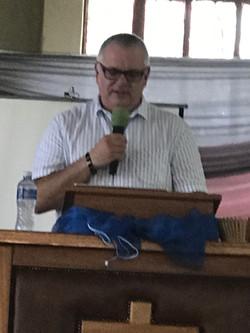 Keith speaking at National Leadership Da