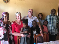With veteran Pastors from Top Ville Emma