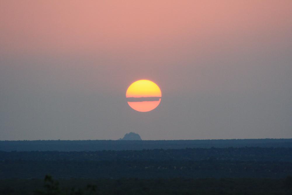 Sunset over Kruger