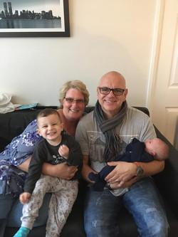 Nana and Pops with Joshua and Nathan