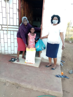 Needy family receives help