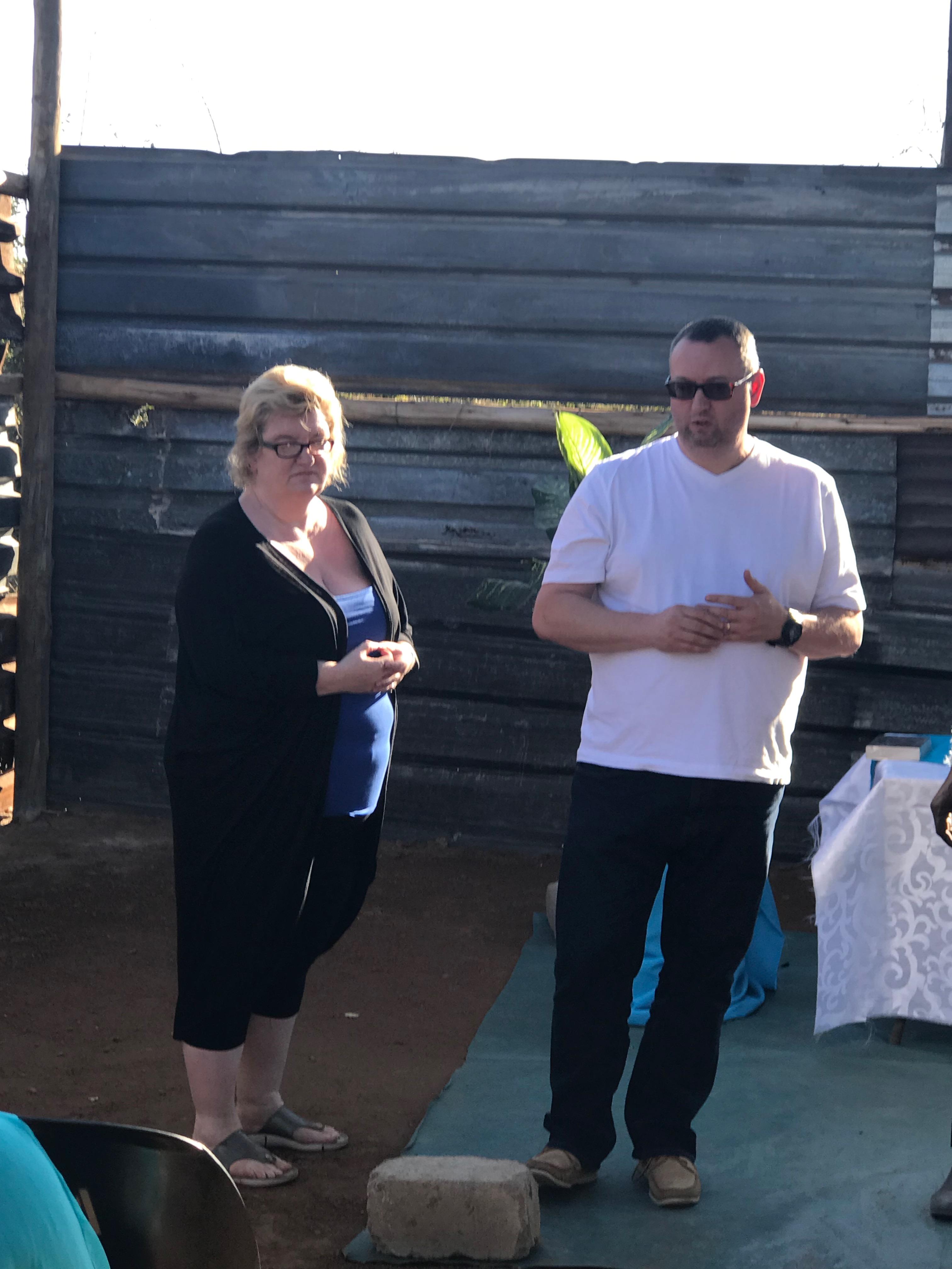Rhio anmd Darren at Nyakeleng