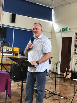Preaching at Wantage Elim June 2018