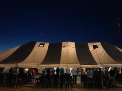 Tent at Makotopong  Crusade