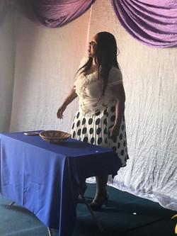Pastor Rebecca at Nobody