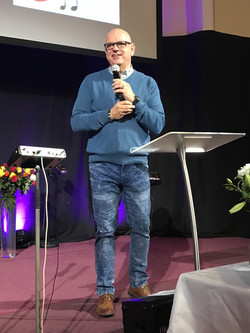Preaching at BE Church