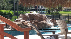 Pool waterfall Classic 6