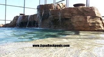 large pool groto  waterfall 10