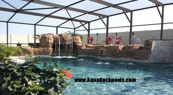 AquaRock pool waterfalls 13