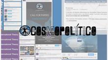 ➲ Chamada de Artigos d'O Cosmopolítico ganha repercussão nacional e internacional