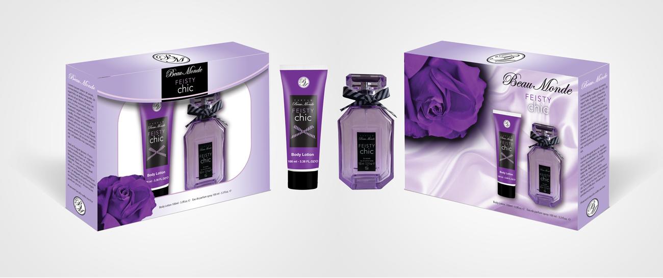 Beau Monde Perfume Feisty Giftset