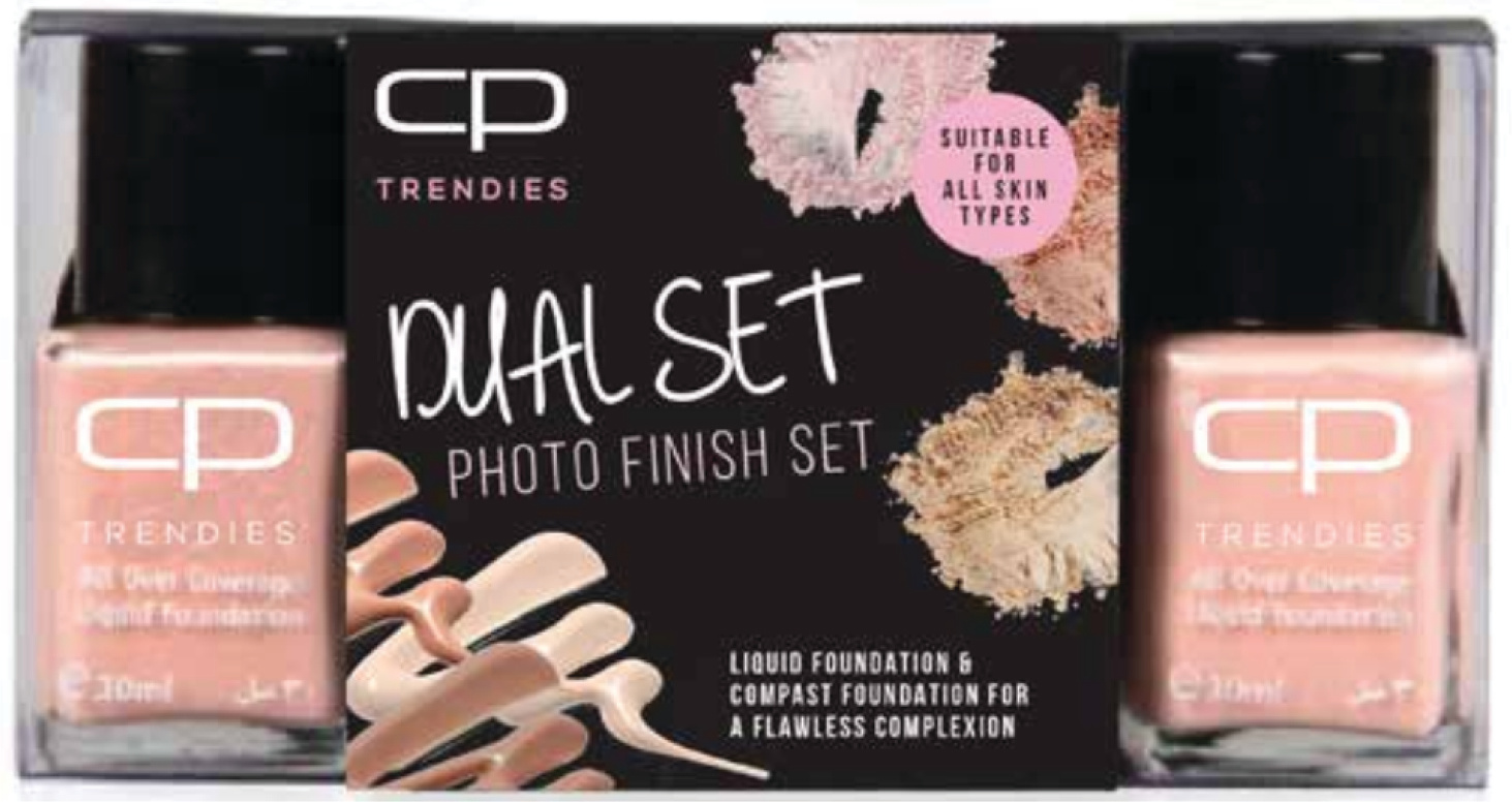 Photo Finish Dual Set Foundation Kit