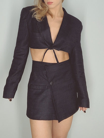 black blazer set