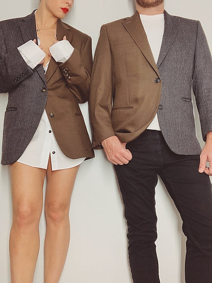 his or hers duality blazer