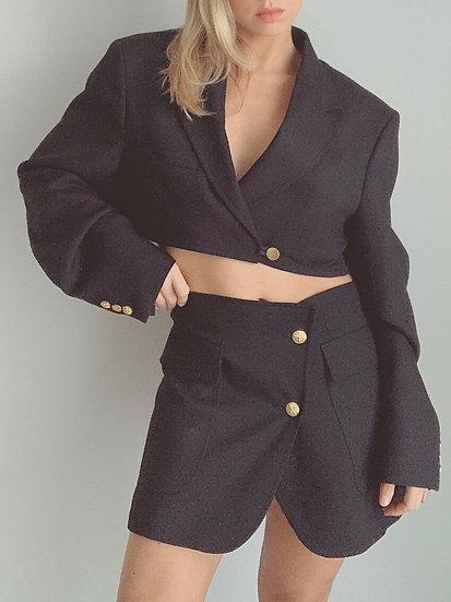black blazer set