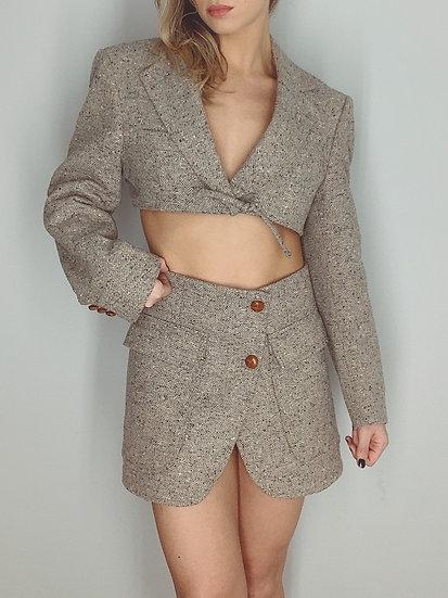 tweed set