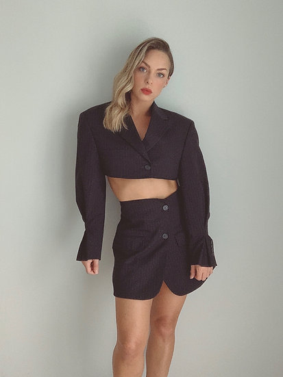 navy blazer set