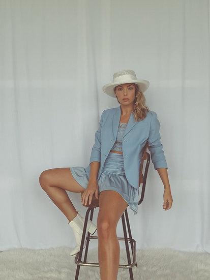 vintage blue blazer