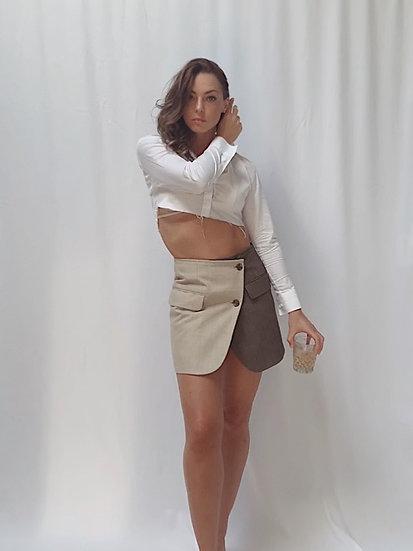 duality blazer skirt