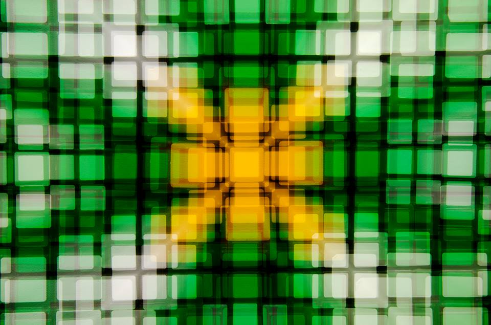 《Artificial view_cube_green》