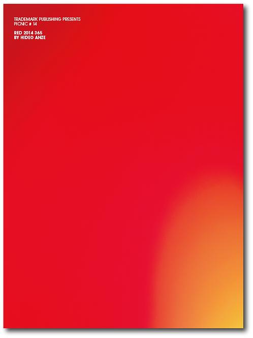 Hideo Anze 『RED 2014 365 (PICNIC #14)』