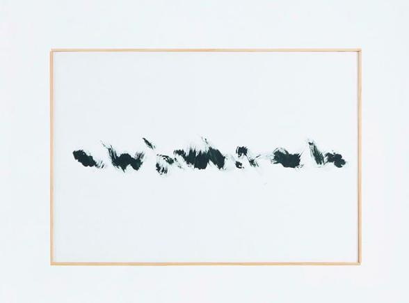 Updown series|2018|54.5×78.5 cm|Acrylic on paper ©Yasunari Kuwano