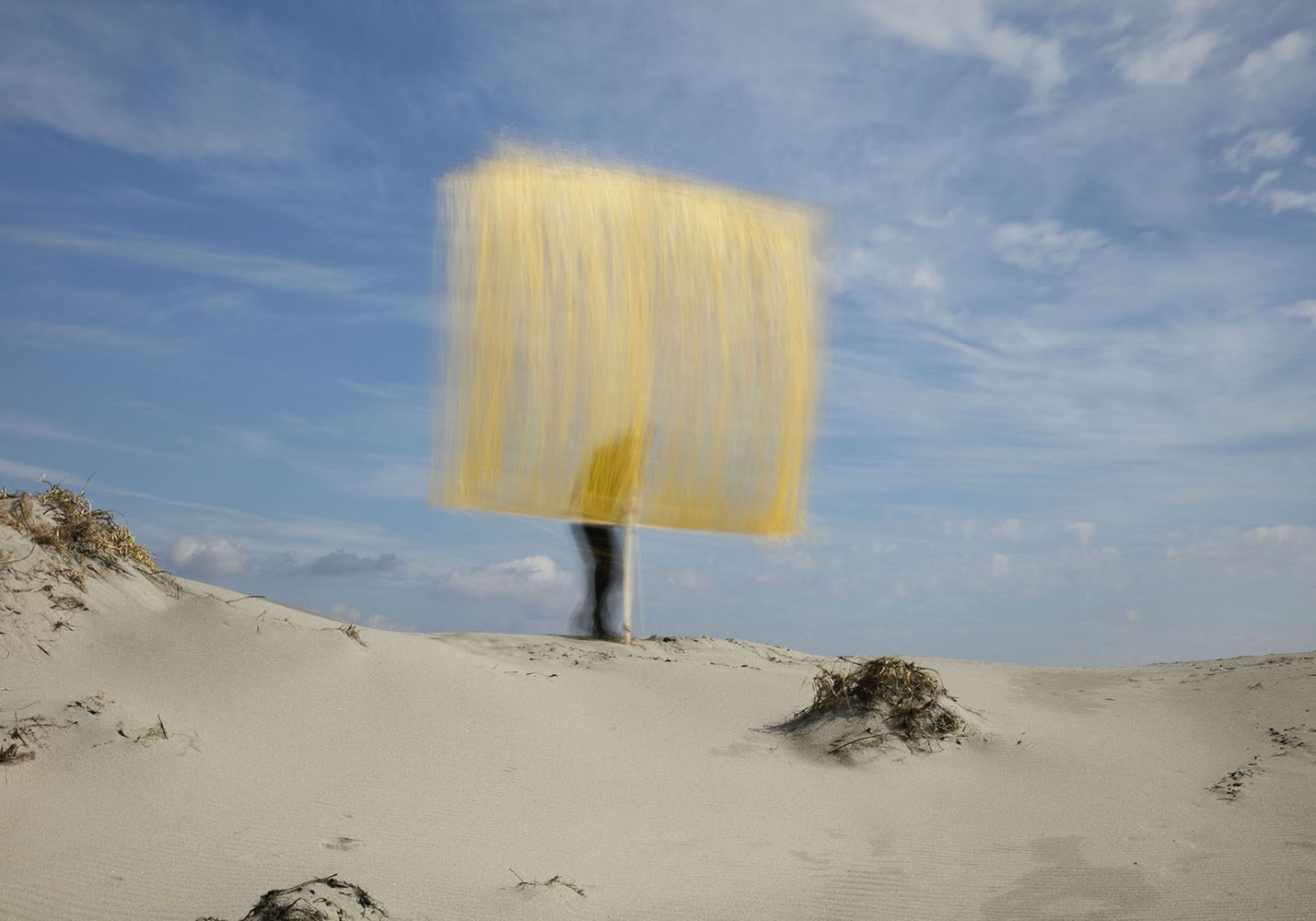 """""""Landscape with a Yellow Curtain 1"""""""