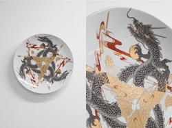 Drift_Collage Plate, King Gidorah