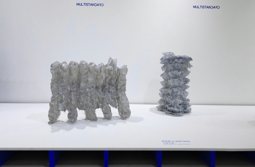 Installation view from MULTISTANDARD exhibition