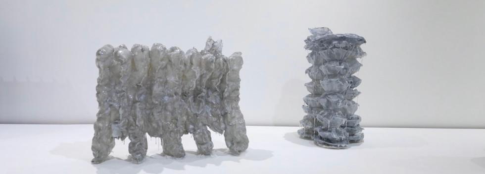 Installation view from MULTISTANDARD exhibition