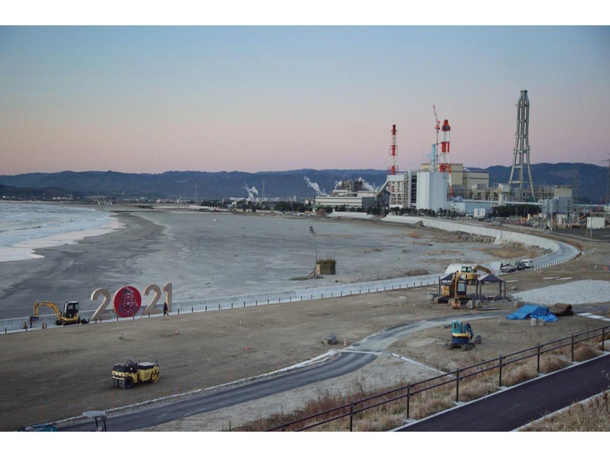 《2021#Breakwater, Fukushima》