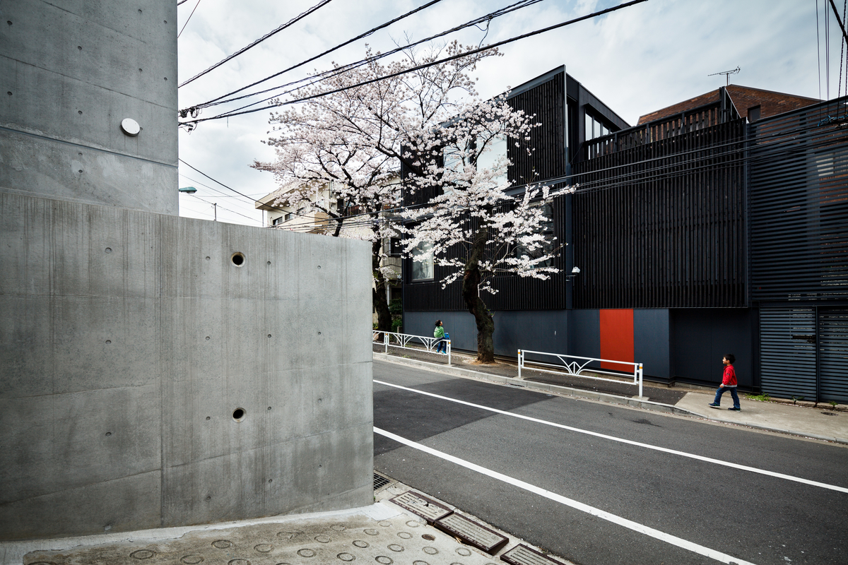India ink house II by Jun Itami