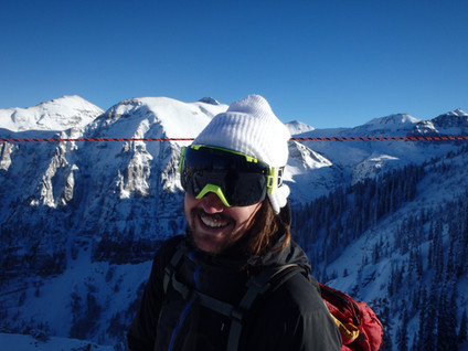 Ski bumming...