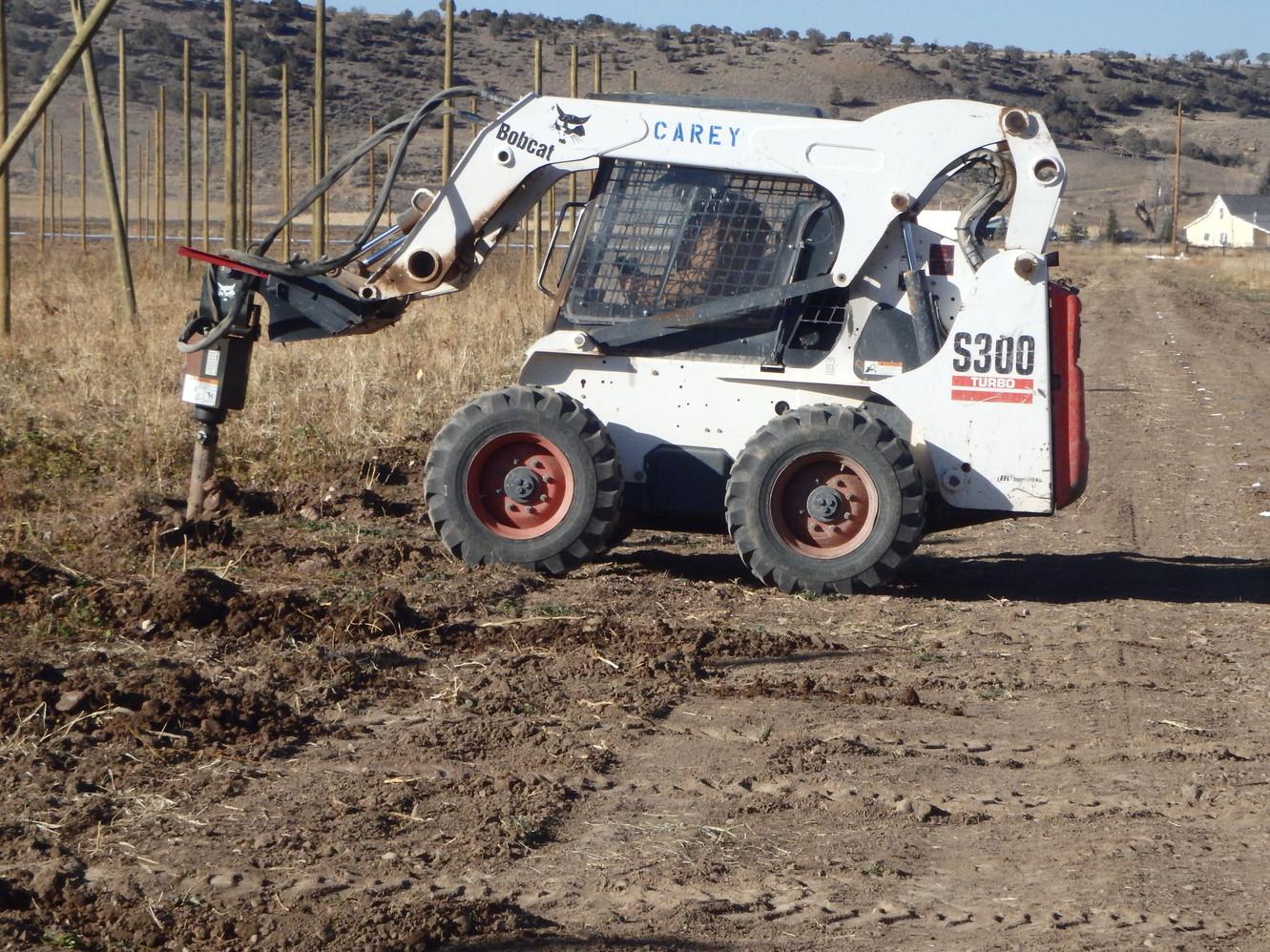 Drilling again...