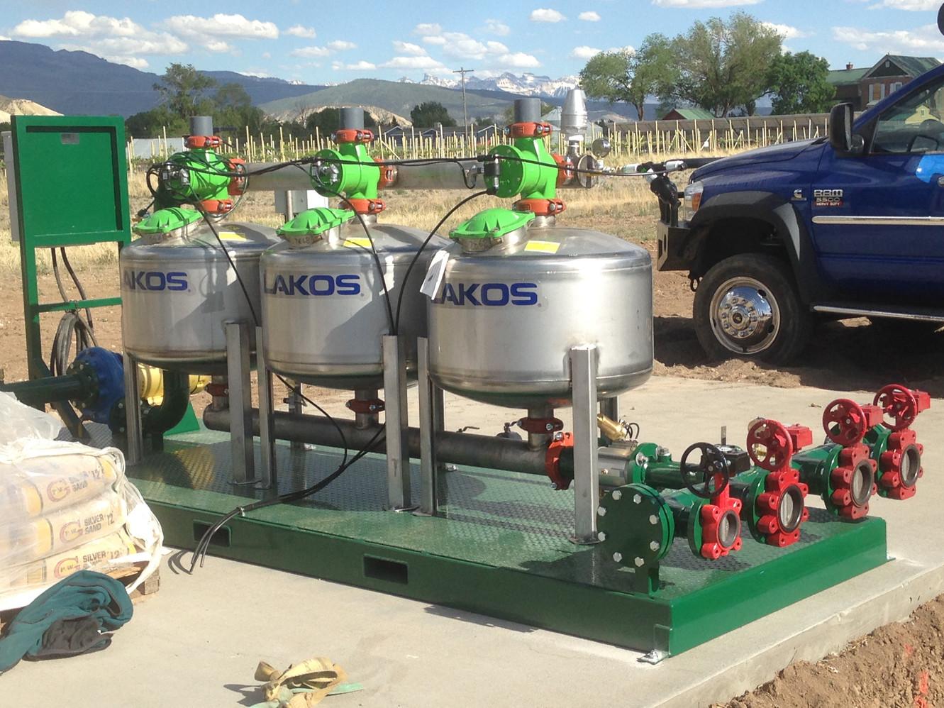 Irrigation filtration system!
