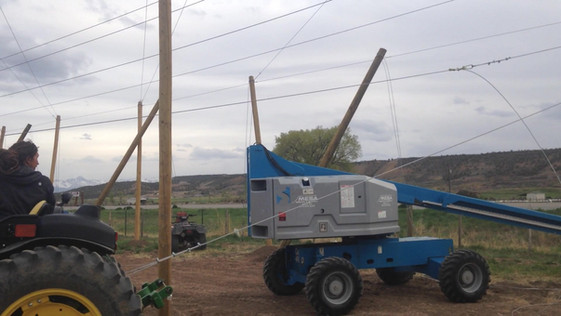Raising the wire!!