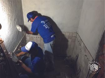 instalacion-baño-consorcio-caza-arquit