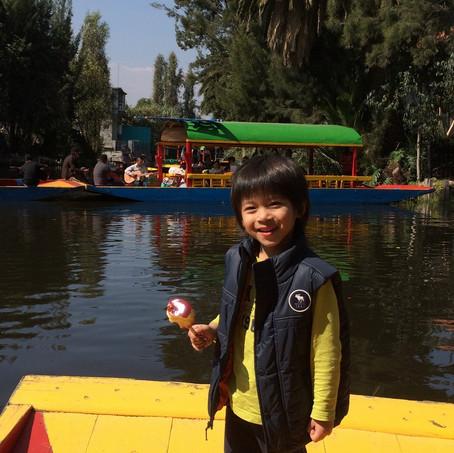 Mexico City-Day 2 AM:Xochimilco水上市場