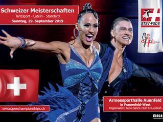 28./29.09.19: Swiss Open und Schweizermeisterschaften Standard / Latein