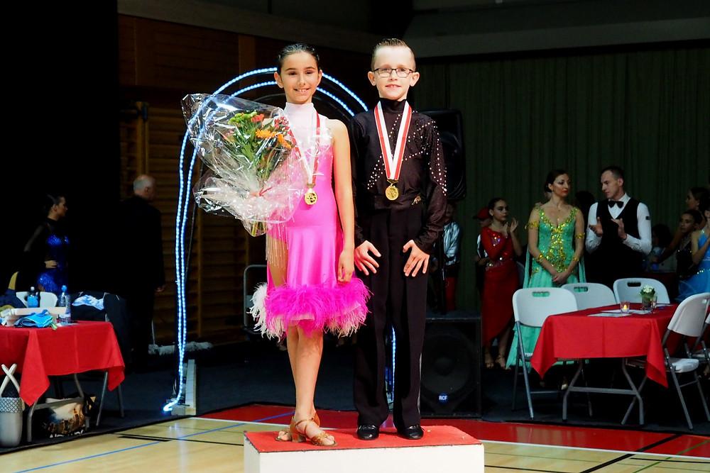 Arjan und Aroa sind Schweizer Meister im Zehntanz